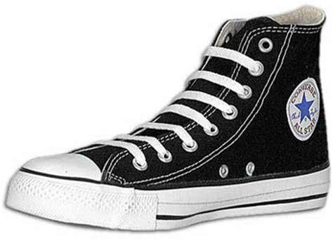 Sepatu Converse Allstar Clasic Black White converse all black hi top at test shop