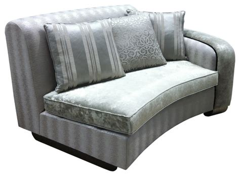Traditional Curved Sofa by Ringo Curved Unit Sofa Right Unit Traditional Sofas