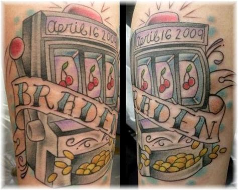 slot machine tattoo slot machine by duffy fortner tattoonow