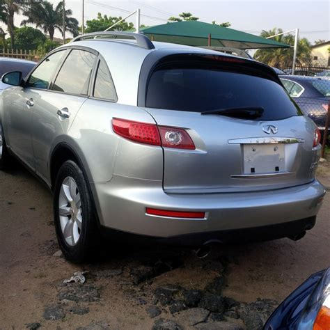 infiniti fx35 2006 for sale 2006 infinity fx35 tokunbo for sale autos nigeria