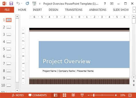 project proposal template for powerpoint
