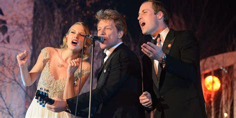 Jon Bon Jovi Lends A To Charity by Prince William Joins Jon Bon Jovi And On