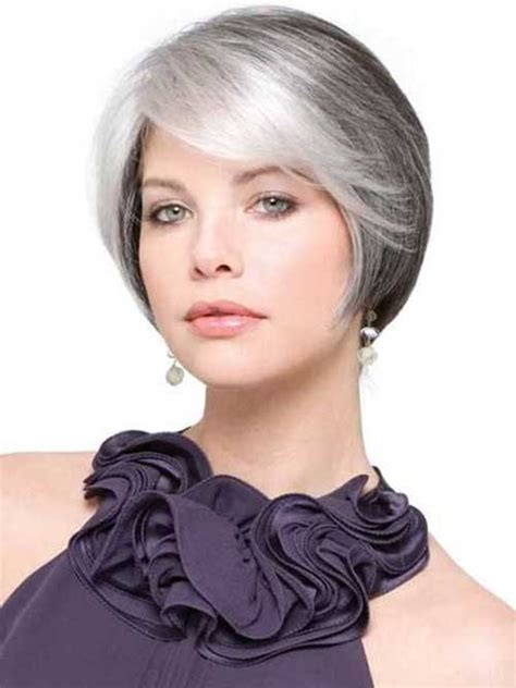 haircuts fine gray hair 14 short hairstyles for gray hair short hairstyles 2017