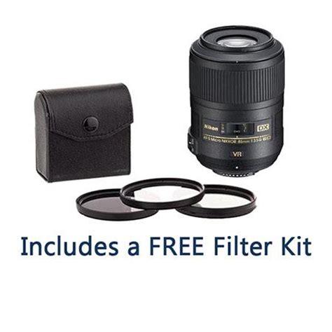 nikon 85mm f/3.5g af s dx micro nikkor ed (vr ii) lens