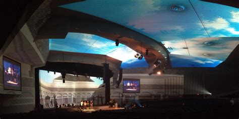 Ceiling Projection by Immersive Environmental Projection Triplewide Media