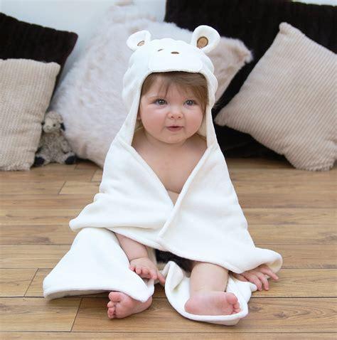 teddy soft hooded baby bath towel bathing bunnies