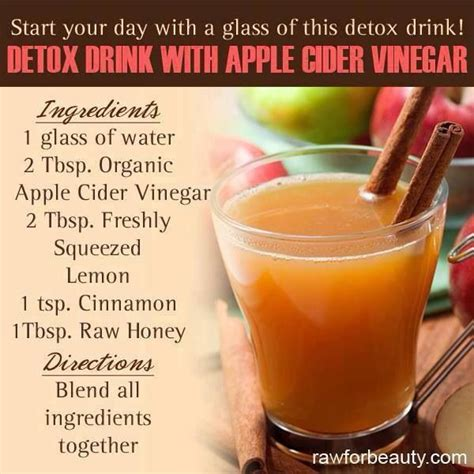 Distilled Water Detox Benefits by Apple Cider Vinegar Recipes To Try Apple