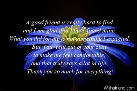 thank you letter to a true friend thank you notes for friends