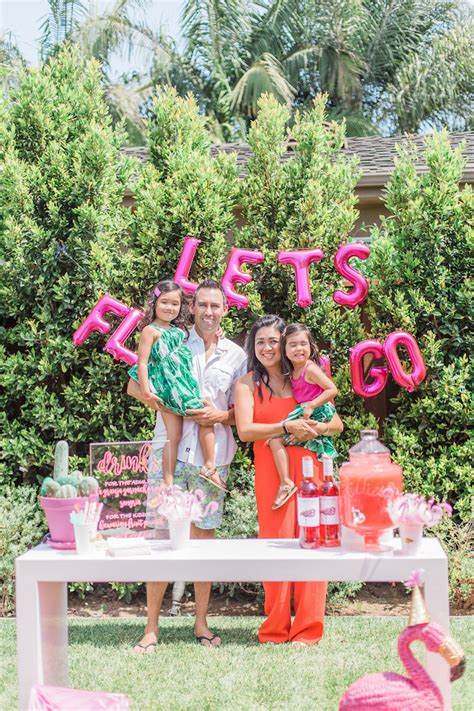 summer themed pictures kara s party ideas cactus flamingo themed summer party