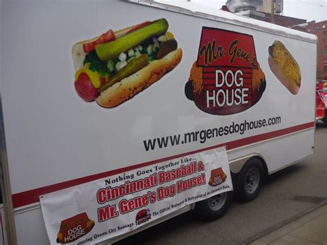 house food for dogs mr gene s dog house cincinnati food trucks roaming hunger