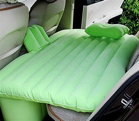 back seat blow up bed portable inflatable air bed travel cing blow up car