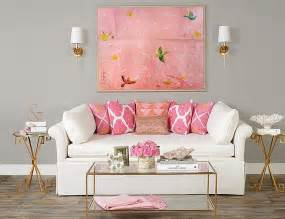 Pink Living Room Ideas 20 And Cheerful Pink Living Rooms