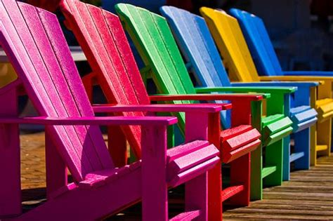 Colorful Adirondack Chairs by Bright Colorful Adirondack Chairs Color