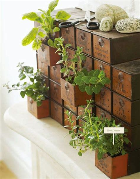 10 Cheap Diy Indoor Herb Containers Home Design And Interior Container Herb Garden Ideas