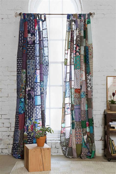 Patchwork Panels - magical thinking patchwork curtain