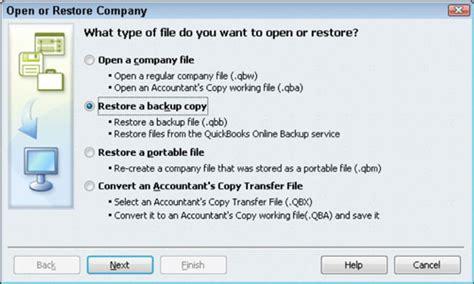 reset quickbooks online data how to restore a data file in quickbooks 2011 dummies