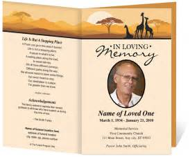 Templates For Funeral Programs Funeral Ceremony Traditions Across The Globe