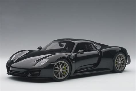 porsche 918 spyder black metallic black porsche 918 spyder weissach package