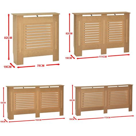 milton radiator cover unfinished modern cabinet mdf