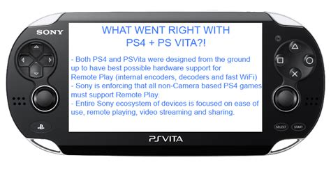remote play thread play ps4 on vita vitatv via wifi