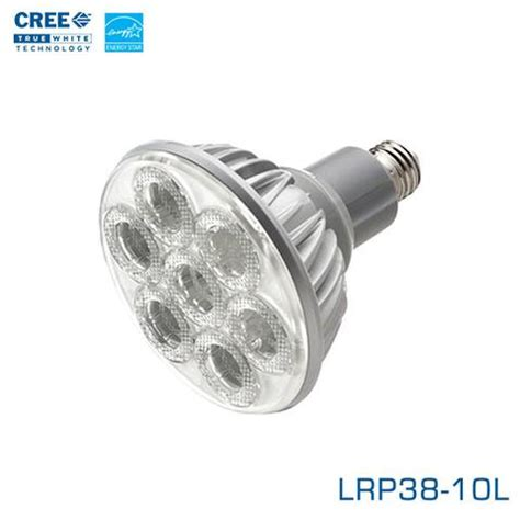Cree Led Flood Light Bulb Cree Lrp Led Par38 Lrp38 10l Earthled