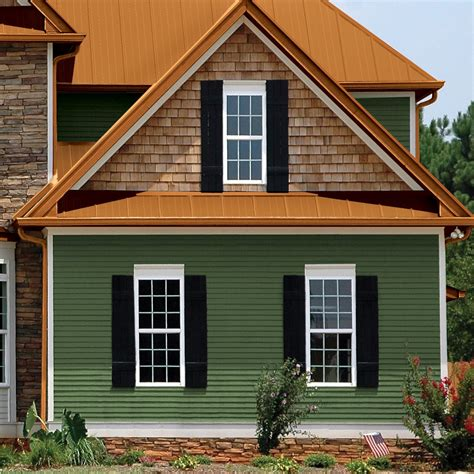 houses with green siding virginia roofing siding company siding