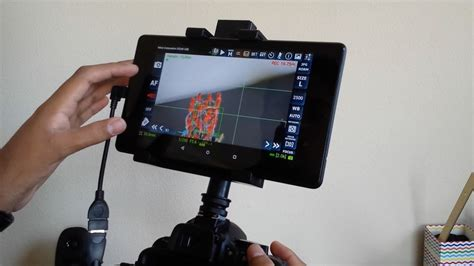 use android tablet as monitor use an android tablet as a live monitor for your dslr
