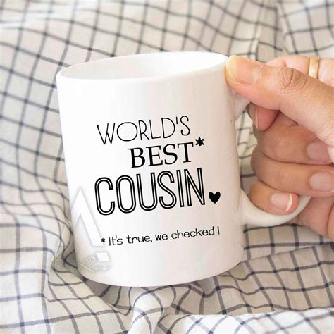 gifts for cousin christmas gift world s best