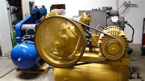 westinghouse 2 stage air compressor 4yc air brake 15 hp machine 2