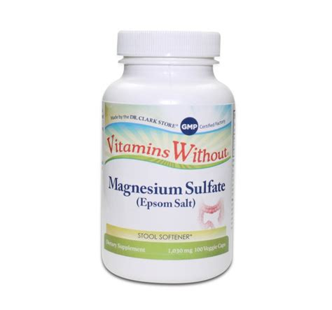 Sulfate Magnesium Detox by Sel D Epsom
