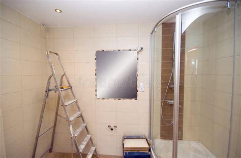 badezimmer konstruktion neues badezimmer stockfoto bild loch konstruieren
