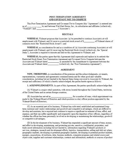 non competition agreement template 39 ready to use non compete agreement templates template lab