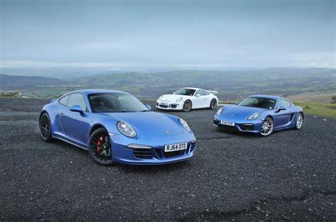 Porsche Cayman Vs 911 by Autocar Test Porsche 991 911 Gt3 Vs 991 911 Gts Vs 981
