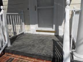screened porch makeover concrete floor new sted concrete porch cap new front door all new