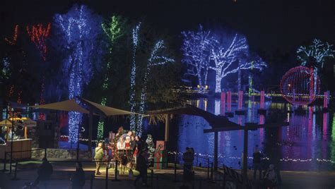 zoo lights arizona zoolights at zoo raising arizona magazine