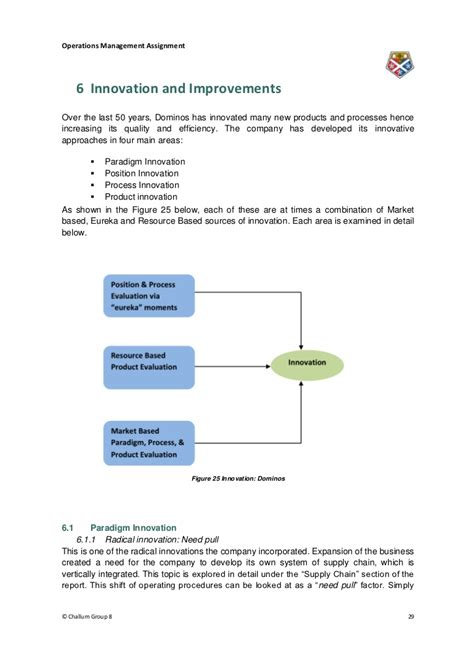 Mba Operations by Mba Operations Management Assignment