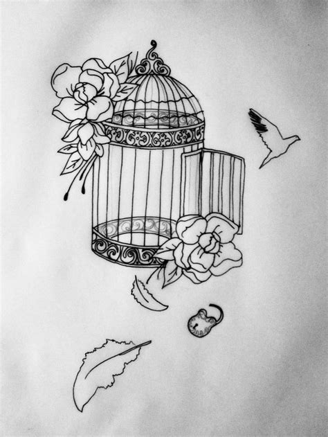 bird cage tattoo designs 17 best ideas about bird cage tattoos on cage