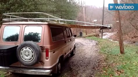 home made awning homemade cer van awning crazy homemade
