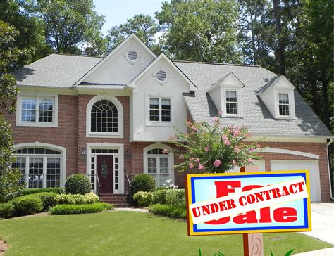 my house is contract what happens now atlanta