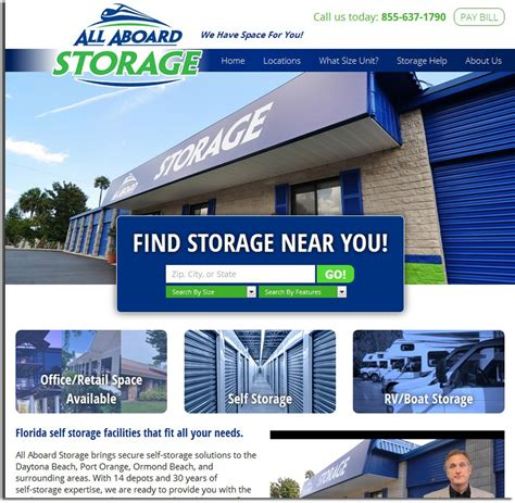 all aboard storage big tree our new all aboard storage website is live