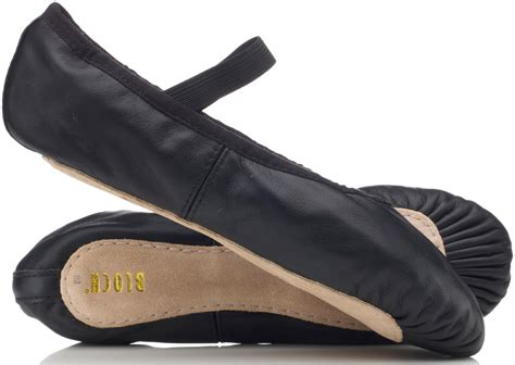 black ballet shoes black leather ballet shoes with pre sewn elastic by bloch