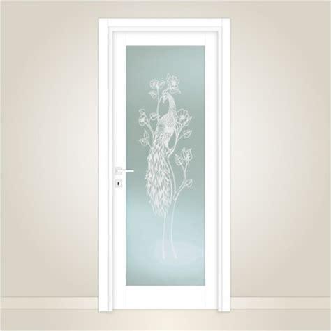 porte interne con vetro satinato vetro satinato per porte interne con decoro artistico