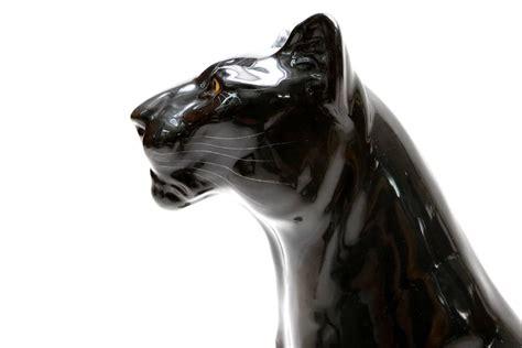 Black Ceramic L by Black Ceramic Panther At 1stdibs