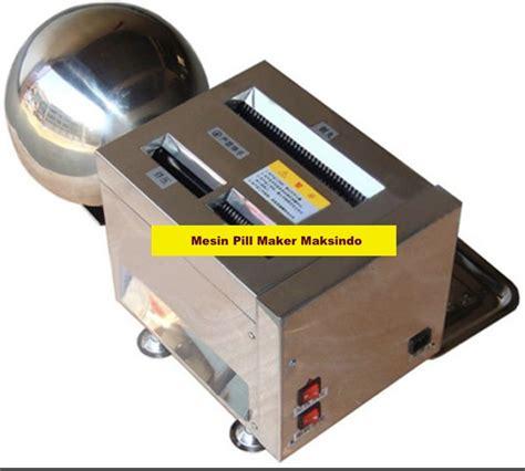 Mesin Maksindo mesin pembuat pill bulat herbal fms99 toko mesin