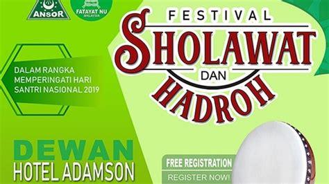 hari santri nu  malaysia gelar festival shalawat  hadrah