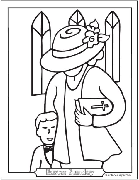 catholic coloring pages for easter easter sunday coloring picture boy church