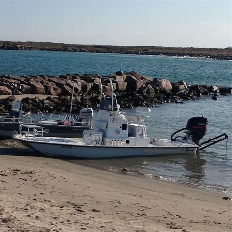 charter boat fishing texas boat for drift and wade fishing in port mansfield texas