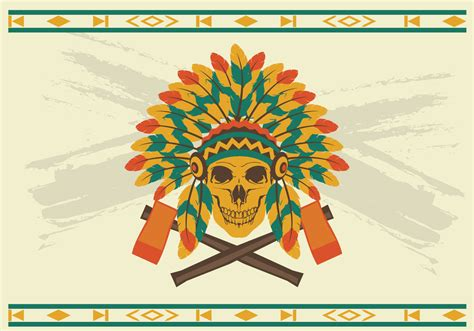 indian headdress template indian headdress vector free vector stock