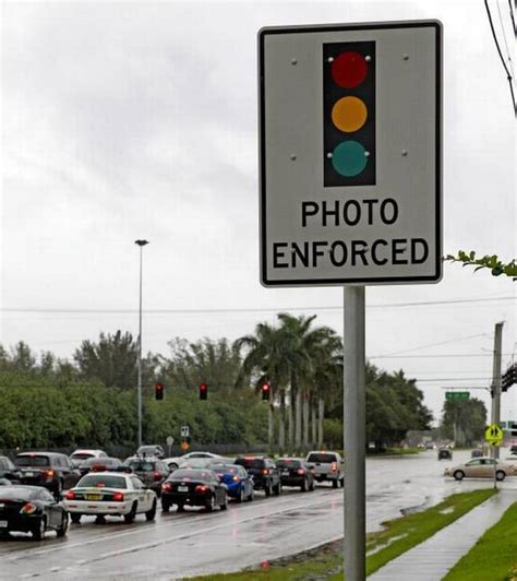 Light Ticket Miami by Drivers Argue Light Tickets Program Is Illegal