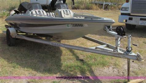 thunderbolt boat 1987 thunderbolt bass boat and trailer item c3583 sold